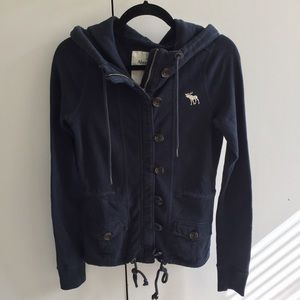 A&F Hoodie with buttons